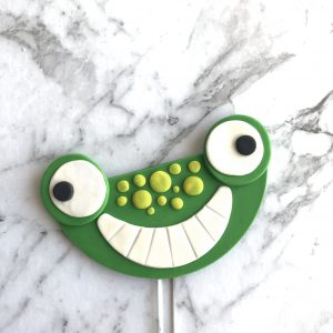 Half Circle Wedge DIY Cake Topper Frog