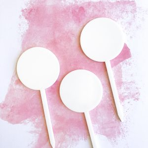 Small Circle DIY Cake Topper Set