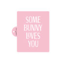 Some Bunny Loves You Cake Stencil