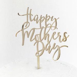 Fun Happy Mother's Day Cake Topper