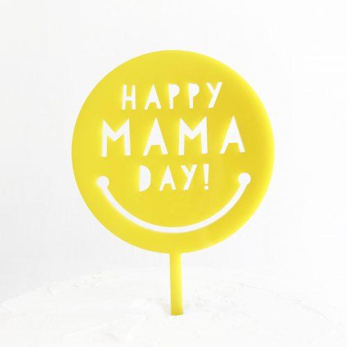 Happy Mama Day Cake Topper