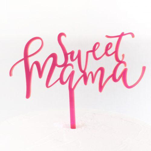 Sweet Mama Cake Topper
