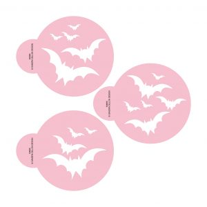 Bats in the Belfry Cookie Stencil Set