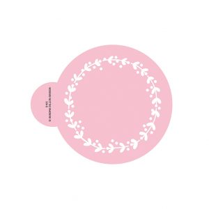 Berry Wreath Cookie Stencil