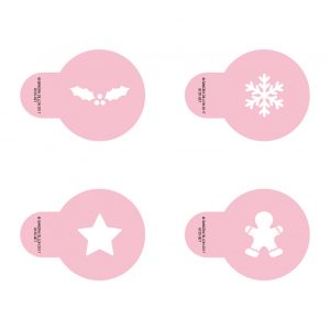 Little Glyphs Stencils Christmas