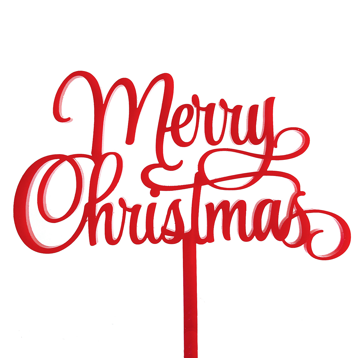 Merry Little Christmas Cake Topper Sandra Dillon Design