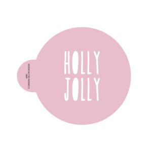 Holly Jolly Cookie Stencil