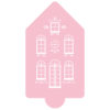 Grand Gingerbread House Stencil