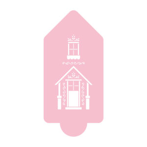 Sweet Gingerbread House Stencil