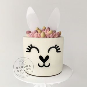 Bunny Ears Cake Topper Set BUNNY CAKE
