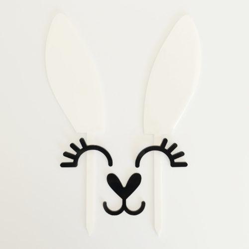 Bunny Ears Cake Topper Set