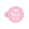 Diamond Bride to be Cookie Stencil
