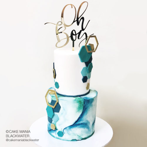 Oh Boy Cake Topper | Cake by Cake Mania Blackwater