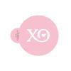 Sweet XO Cookie Stencil