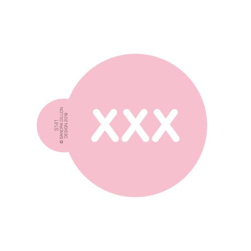 XXX Cookie Stencil