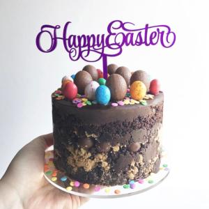 Happy Easter Cake Topper in Cake by Sandra Dillon Design