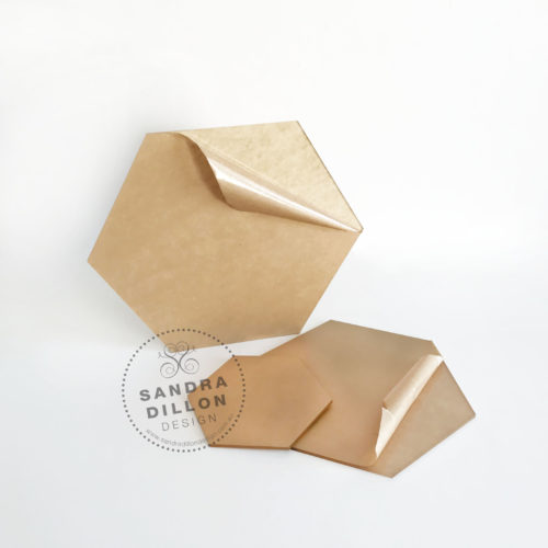 Hexagon Acrylic Ganache Boards