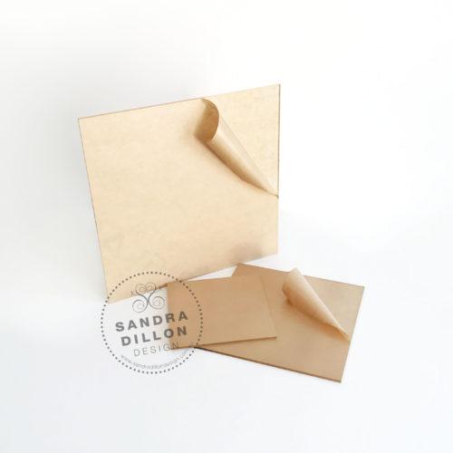Square Acrylic Ganache Boards