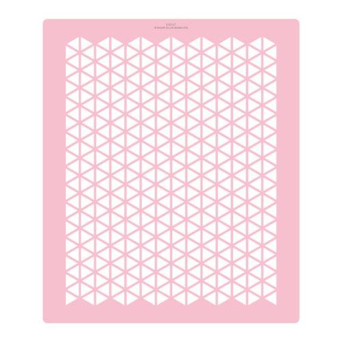 Extra Tall Segmented Hexagon Cake Stencil