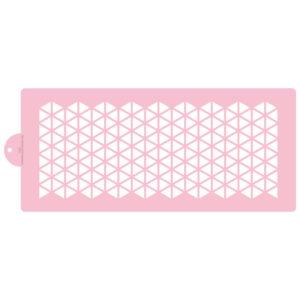 Segmented Hexagon Cake Stencil