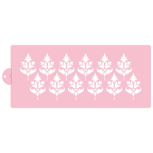 Double Classic Damask Cake Stencil