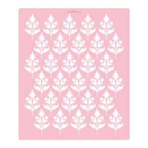 Extra Tall Classic Damask Cake Stencil