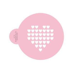 Heart of Hearts Cookie Stencil