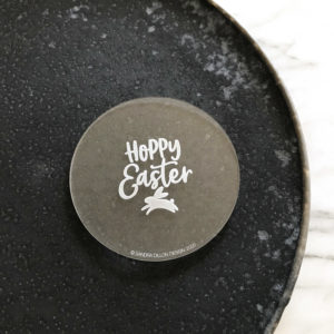 Hoppy Easter Engraved Fondant Embosser