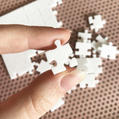 1000 Piece White Jigsaw Puzzle - HARD
