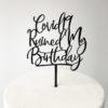 Covid-19 Ruined My Birthday Cake Topper