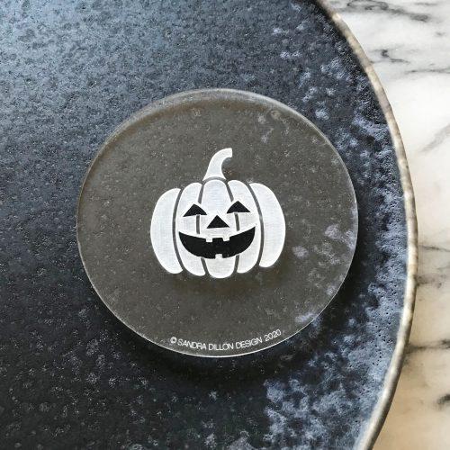 Pumpkin Engraved Fondant Embosser