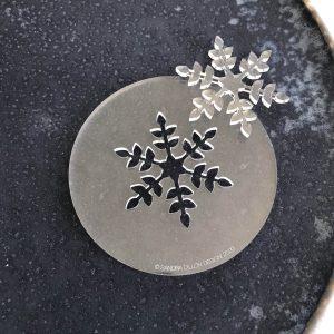 Sweet Snowflake Fondant Embosser