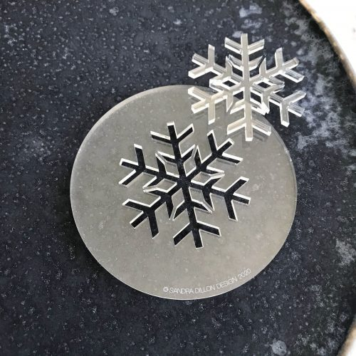 Traditional Snowflake Fondant Embosser