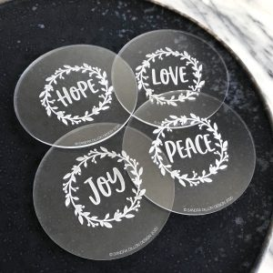 Wreath Engraved Fondant Embosser Set